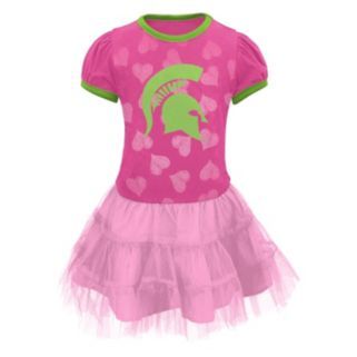 Toddler Michigan State Spartans Tutu Dress