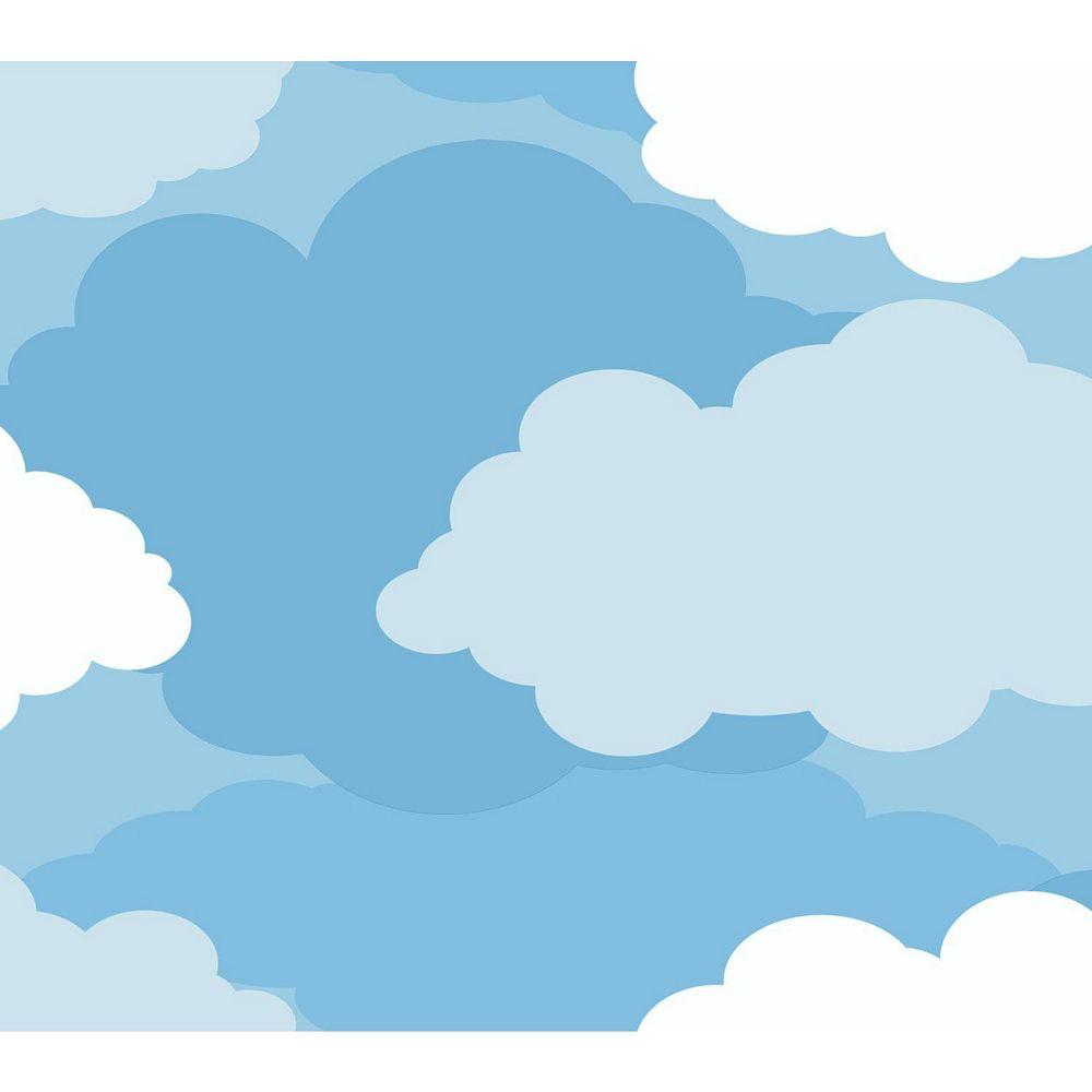 Peek-A-Boo Cloud Ultra Removable Wallpaper