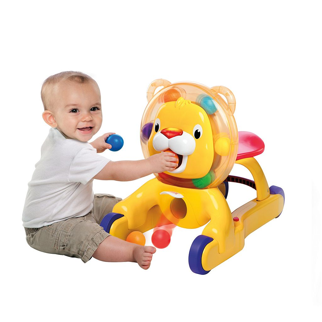 Bright Starts 3-in-1 Step & Ride Lion
