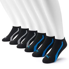 Men's PUMA 6-Pack Low-Cut Socks