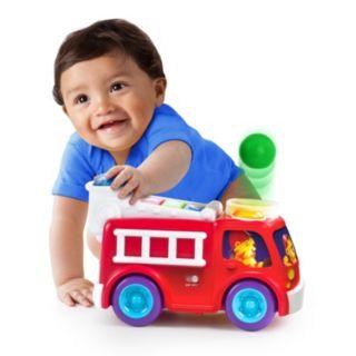 Bright Starts Roll & Pop Fire Truck