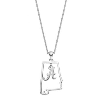 Dayna U Alabama Crimson Tide Sterling Silver Pendant Necklace