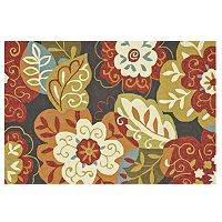 Loloi Summerton Black Multi Floral Rug