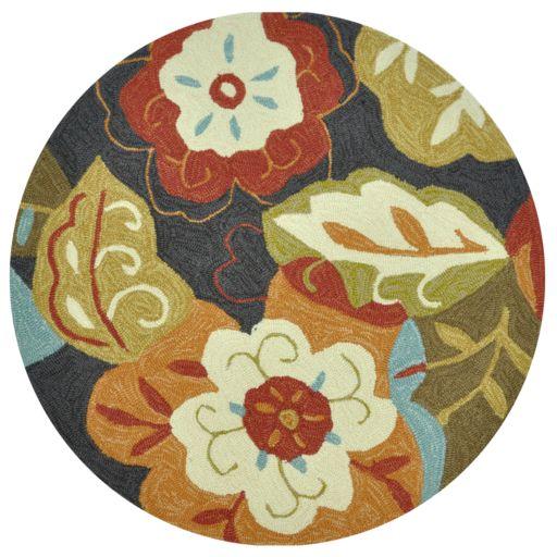 Loloi Summerton Black Multi Floral Rug