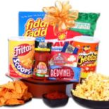 "Alder Creek ""Game On!"" Football Snack Gift Basket"
