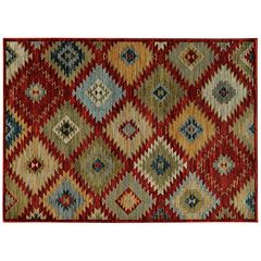 StyleHaven Casa Native Diamond Rug