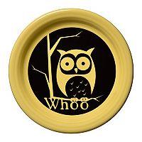 Fiesta Whoo Owl Appetizer Plate