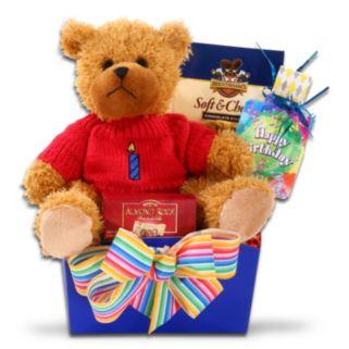 Alder Creek Happy Birthday Gift Box with Bear Plush