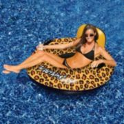 Swimline Wildthings 40-in. Animal Print Inflatable Pool Float