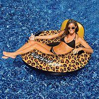 Swimline Wildthings 40 in Animal Print Inflatable Pool Float