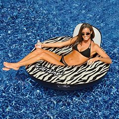 Swimline Wildthings 40 in Animal Print Inflatable Pool Float