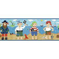 Peek-A-Boo Pirates Border