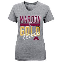 Girls 7-16 Minnesota Golden Gophers Palladium Tee