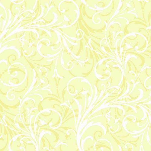 Peek-A-Boo Layered Scroll Wallpaper