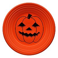 Fiesta Spooky Pumpkin 9-in. Luncheon Plate