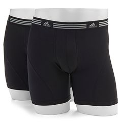 Men's adidas 2-pack ClimaLite Athletic Stretch Boxer Briefs