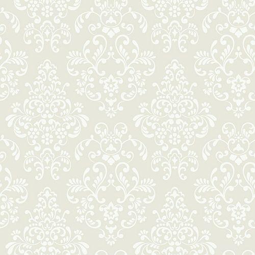 Peek-A-Boo Delicate Damask Ultra Removable Wallpaper