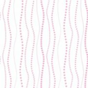 Peek-A-Boo Dotty Stripe Ultra Removable Wallpaper