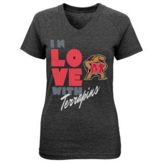 Girls 7-16 Maryland Terrapins In Love Tee
