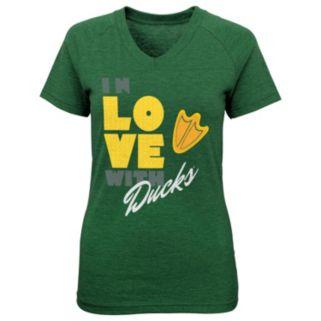 Girls 7-16 Oregon Ducks In Love Tee