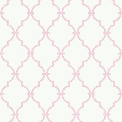 Peek-A-Boo Graphic Trellis Ultra Removable Wallpaper