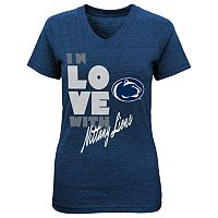 Girls 7-16 Penn State Nittany Lions In Love Tee