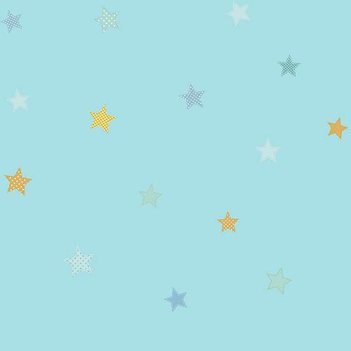 Peek-A-Boo Starry Sky Wallpaper