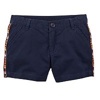 Toddler Girl Carter's Embellished Twill Shorts