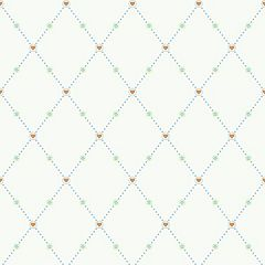 Peek-A-Boo Hearts and Harlequins Ultra Removable Wallpaper