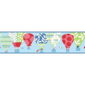 Peek-A-Boo Hot Air Balloon Ultra Removable Border