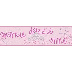 Peek-A-Boo Sparkle Dazzle Shine Ultra Removable Border