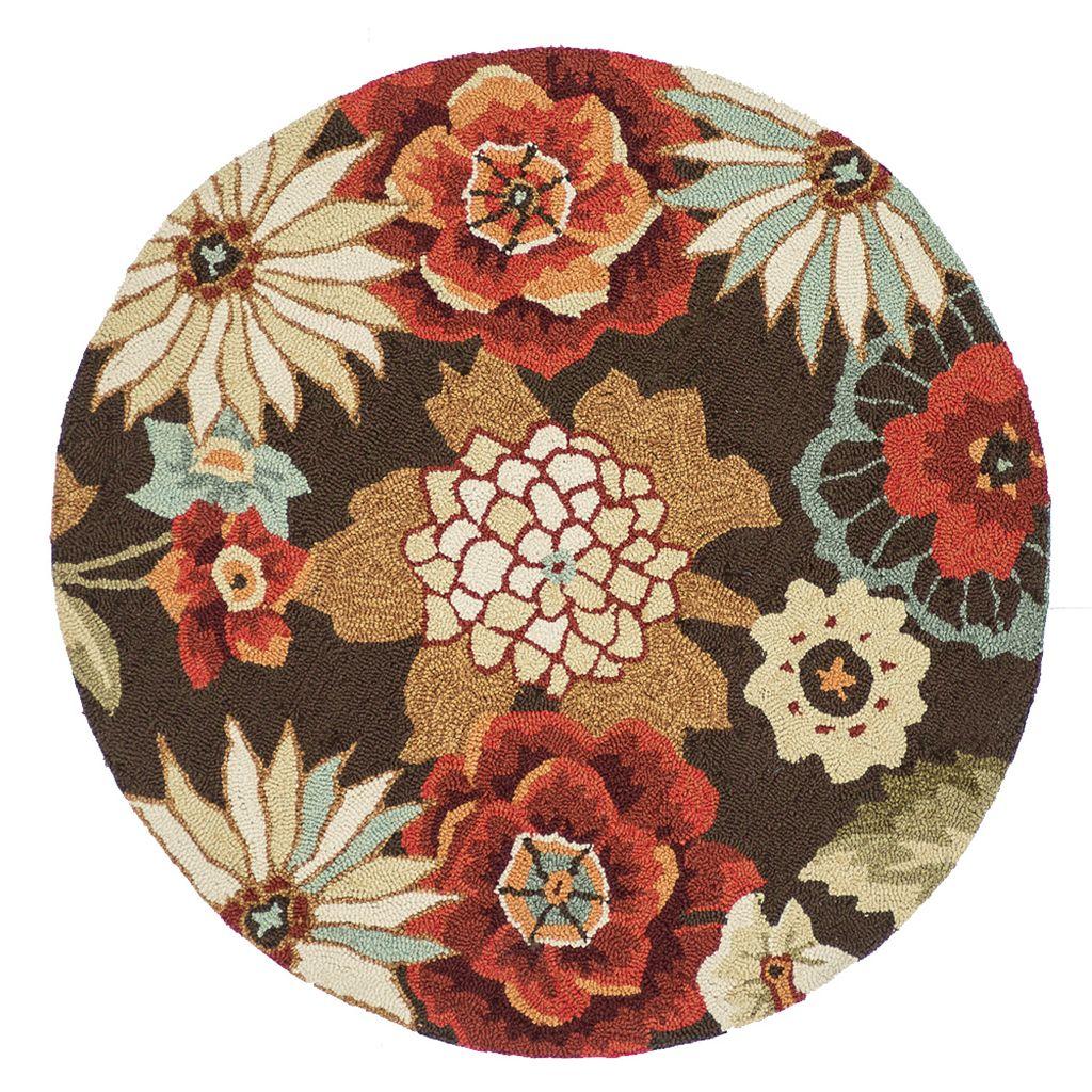 Loloi Summerton Chestnut Floral Rug