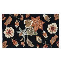Loloi Summerton Black Rust Floral Rug