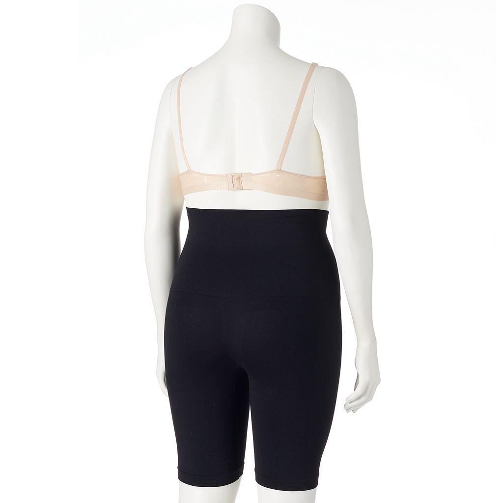 Plus Size Lunaire Shapewear High-Waist Thigh Slimmer 3254HL