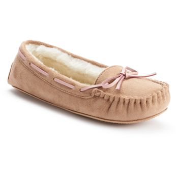 SO Women's Moccasin Slippers