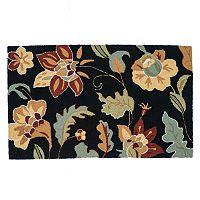 Loloi Summerton Black Floral Rug
