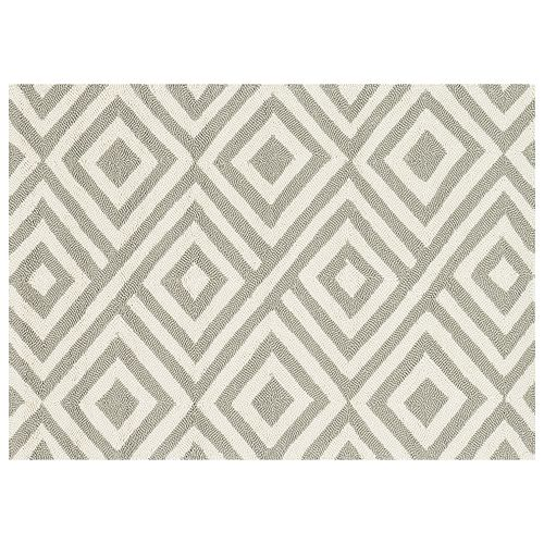Loloi Venice Beach Geometric Lines Indoor Outdoor Rug