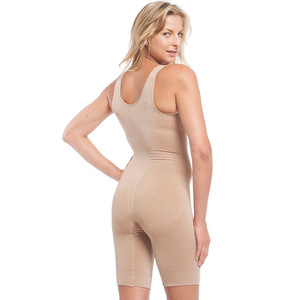 Lunaire Shapewear Seamless Open-Bust Body Shaper 4161K - Women's