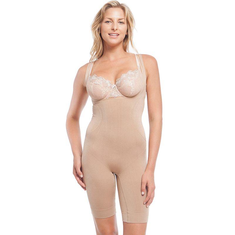 Lunaire Shapewear Seamless Open-Bust Bodysuit 4161K - Women's