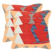Safavieh Geometric 2-piece Throw Pillow Set