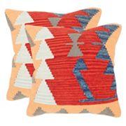 Safavieh Geometric 2 pc Throw Pillow Set