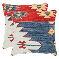 Safavieh Tribal Geometric 2 pc Throw Pillow Set