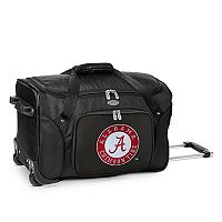 Denco Alabama Crimson Tide 22-Inch Wheeled Duffel Bag