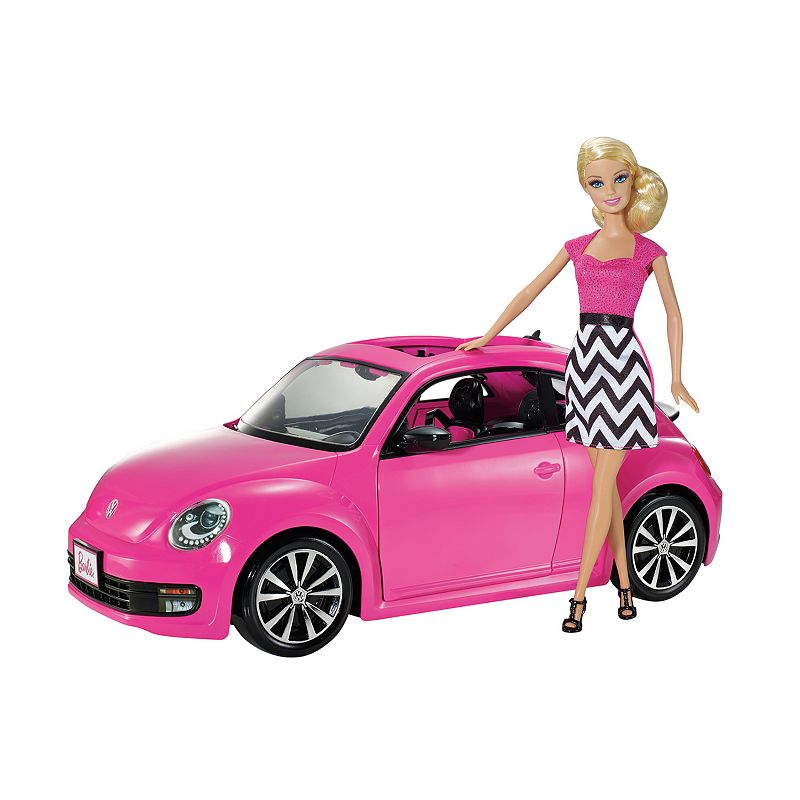 Barbie VW Beetle Car & Doll Set ()