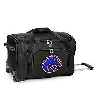 Denco Boise State Broncos 22-Inch Wheeled Duffel Bag