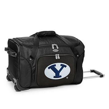 Denco BYU Cougars 22-Inch Wheeled Duffel Bag