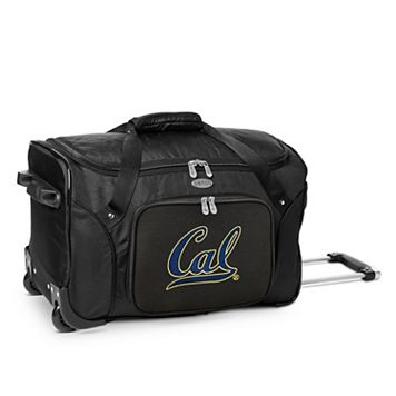 Denco Cal Golden Bears 22-Inch Wheeled Duffel Bag