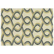 Loloi Venice Beach Trellis Wave Indoor Outdoor Rug