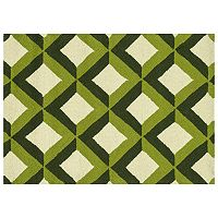 Loloi Venice Beach Shadow Trellis Indoor Outdoor Rug