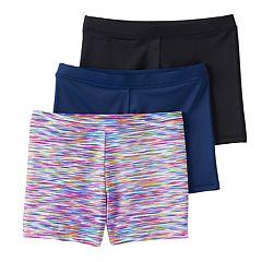 Girls 4-12 2-pack + 1 Bonus Playground Pals Bike Shorts